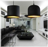 KINGART Jeeves and Wooster Bowler/Tall Hat Pendant Lamp Lighting for dinning room 2 lights