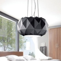 KINGART Modern Deluxe Glass Shade Pendant Lamp