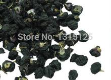 Wild Black Goji Berry Health Tea Goji Berries Chinese Wolfberry Medlar In The Herbal Tea Anti