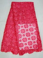 Free shipping by DHL,guipure,cord lace, fabric,Water soluble fabric, J341-3