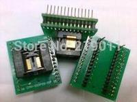 Free Shipping Original SSOP20 to DIP20 Adapter /TSSOP20 to DIP20 IC Test Socket Programmer adapter 0.65mm Pitch