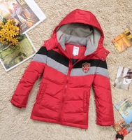 New 2014  Winter  Children's Duck Down Jackets For Boys Children Outerwear For 4-15 Years Old Kid