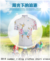 2014 summer new mountain bike riding clothes short sleeve quick drying  high quality outdoor travel sportswear equipment