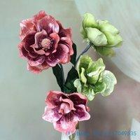 1 PCS Beautiful Fake Big Lotus flower Silk Flower Artificial Magnolia denudata Home Decoration gift F264