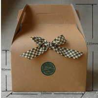 free shipping kraft paper box gift  box no printed fot cake DIY