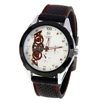 mens watch Free shipping like 2014 men mechanical watches, luxury watch brand fashion wrist watch rubber strap men watches