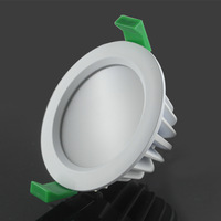 (6pcs/lot)New Arrival 15W Waterproof IP65 Dimmable COB downlight,12W/15W /25W COB led down light,cob downlight led free shipping