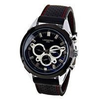 mens watch Hit men mechanical watches, luxury watch brand fashion wrist watch rubber strap 2014 men watches free shipping watch
