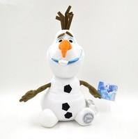 "30CM Frozen Olaf Cartoon plush doll, Frozen Snowman Plush Doll Stuffed Plush Toy 12 ""White, Olaf plush Toys New Year's gift"