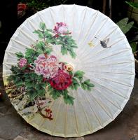 Dia 50cm Free shipping chinese sunscreen decoration oiled paper umbrella handmade traditional craft umbrella children dance