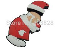 Wholesale Christmas Day Gift USB Flash Pen Drive 4GB 8GB 16GB 32GB Santa Claus USB Stick Father Christmas USB Flash Drive Stick