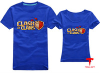 2014 high quality Clash of clan coc man and women  T-shirt  freeshipping customization fashion style novel personal gift