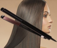 professional Temperature Control hair straighteners 220-240V Straightening corrugated Iron