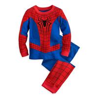 2014 New Spiderman Children Clothing Sets,Fashion Spiderman Cosplay Costume Kids Pajama Sets,Long Sleeve Toddler Baby Sleepwear