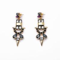 2014 Cool Punk Rivet Stud Earring Women Charm Earring Fashion Earring Free Shipping (Min $20 can mix)