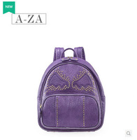 Free shipping AZA handbag shoulder bag 2014 new fashion trend in Europe and America Rivet bag