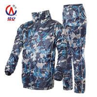 motocycle raincoat bicycle fashion  color double adult rain coat split motorcycle raincoat rain pants suit