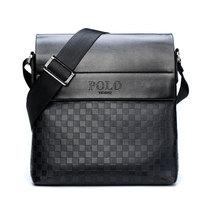 Men Designer Mens Bag Fashion PU Leather Brand Polo Bags Briefcase Business Shoulder Messenger Bags For Men