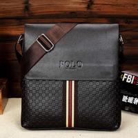 Bolsa Limited Men Cover Pu Handbag Handbags 2014 Winter Men's Shoulder Bag Messenger Man Leisure And Business Brand New