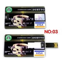 Waterproof Pen Drive! Real 4GB/8GB/16GB/32GB Bank Credit Card Shape USB Flash Drive Pen Drive Memory Stick, Free Shipping