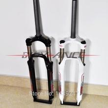 """nova chegada veetoka xcm 26"""" bicicleta de montanha forquilha dianteira da liga de alumínio 26er mtb bike garfo de suspensão óleo manual lock preto/branco(China (Mainland))"""