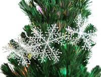 18 cm snow christmas tree hangings Christmas decoration