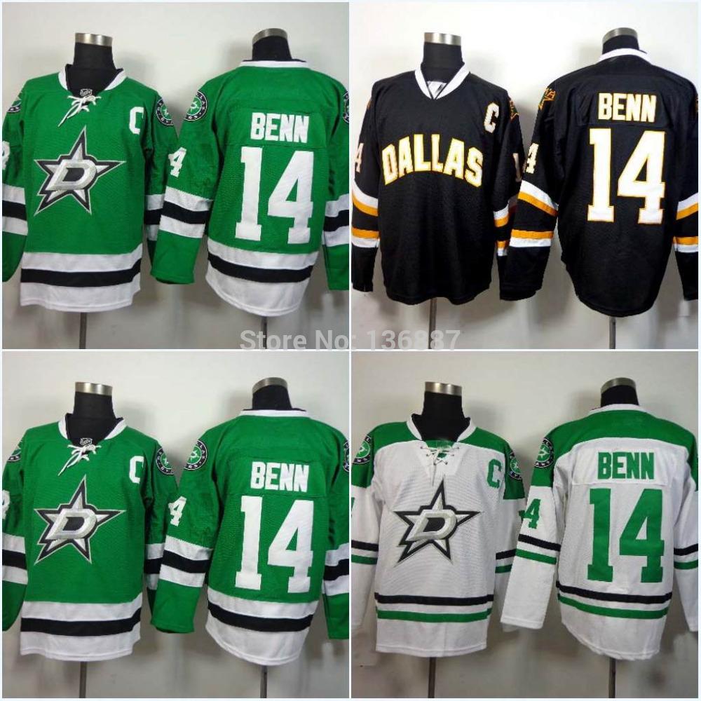 #14 Jamie Benn,Dallas Stars Authentic ICE Hockey Jerseys,2014-2015 New Style Stitched Jersey,Embroidery logos,Free Shipping(China (Mainland))