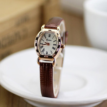 2014 New Arrive Quartz Women Leather Strap Watch , Dress Women Watches Rhinestone Wristwatches ladies watch(China (Mainland))