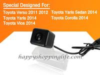 Car Rearview Camera for Toyota Verso Yaris Sedan Yaris Corolla with Night Vision Waterproof - Toyota Verso Reverse Backup Camera