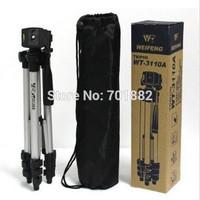 WEIFENG Camera Tripod WT3110A With 3-Way HeadTripod for Nik-on D7100 D90 D3100 DSLR So-ny NEX-5N Can-on 650D 70D 600D WT-3110A