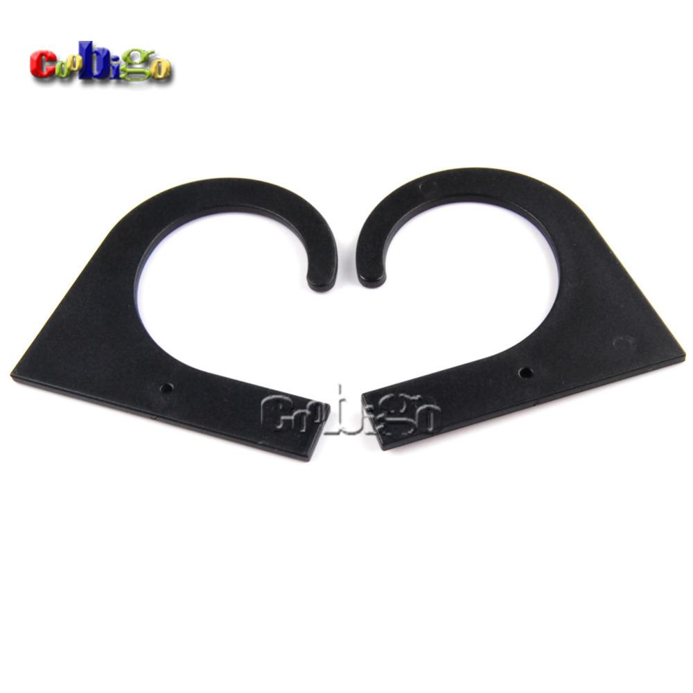 1000pcs Pack 60*59.5mm Black Plastic Hanger&Hook For Garment Textile Accessories #FLC234A-B(China (Mainland))