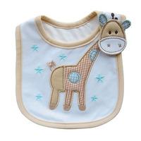 Resuli2014 New Cute Baby Infants Kids Bibs Baby Lunch Bibs Cute Towel 3 Layer Waterproof Cooseela