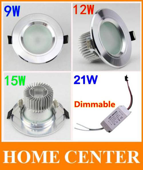 Светодиодный светильник Home center 10 Antifogging 9W 12W 15W 21 Epistar downlight ac85/265v other