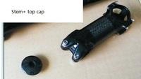 10pcs/lot. EMS/DHL free ship. 2014 new carbon Fiber Bicycle Stem Carbon Bike Handle Stem+ top cap.wholesale