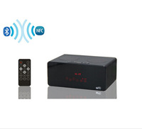 New 2014 NFC Bluetooth Speaker Portable Subwoofer Mini MP3 Music FM Radio Mobile Speaker With Touch Control and Remote Control