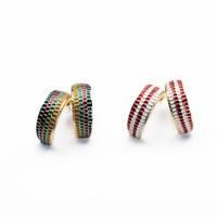 2014 C Shape Stud Earring Design Earring Fashion Earring Free Shipping (Min $20 can mix)