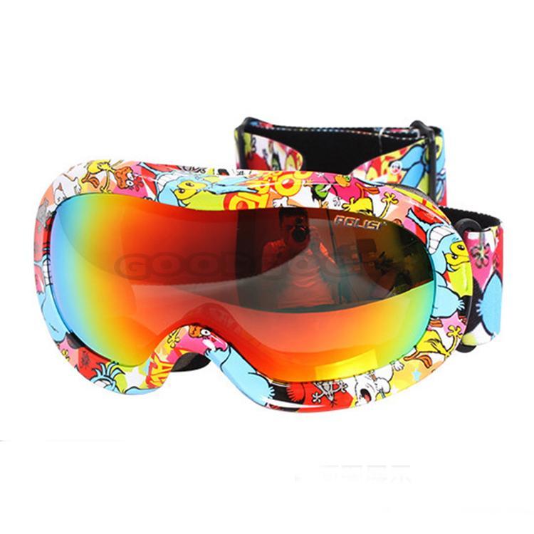 New POLISI Motorcycle ATV Windproof Anti-Fog Glasses Eyewear Children Kids Ski Polarized Goggles Multicolour Lens Free Shipping(China (Mainland))