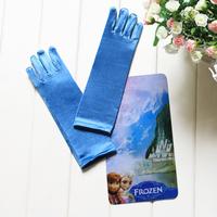 1pair Children girl's baby girl Frozen Elsa blue Gloves & Mittens 90039