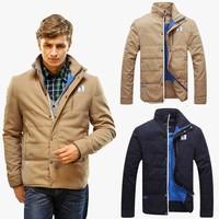 2014 New Big Sale Men Winter Coat Jacket Causal Coat Winter Outwear Outdoor Jacket High Quality Men's Outdoors down jacket
