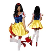 Festival Gift: Adult Women Costume Women Adult Alice Snow White Costumes One Size Cosplay Costume