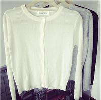 Hot new 2014 women's long sleeve shirt small shirts threaded silk jackets women thin sweatshirts fashion casual blouse 9008