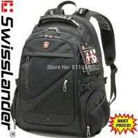 SwissLander,Swiss,15.6 inch laptop backpack,men's computer backpacks,women's notebook shcool bag pack w/ 3 pcs free gifts
