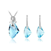 2014 New Design Low Price Free Shipping Hot Sale Dolphin Jewelry Set  For Women ,TZ-1135
