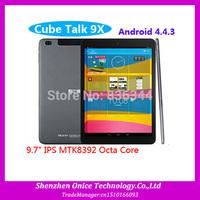 IN STOCK Cube Talk 9X Cube U65GT Talk 9x Octa Core Phone Call MTK8392 2GB RAM 16GB ROM BT FM GPS Dual Camera Free Shipping