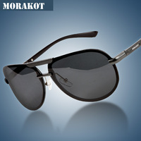 2014 new polarized sunglasses atmosphere male aluminum magnesium fashion thumps cool driving sunglasses free shipping
