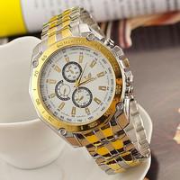 Brand ORLANDO Quartz watches Men Business Gold Watches Luxury watches Men full Steel watch Male clock  AW-SB-1063