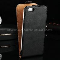 1pcs Genuine Leather Case For iPhone 6 plus 5.5'' Luxury Flip realy Leather Case For iPhone 6 plus+free film