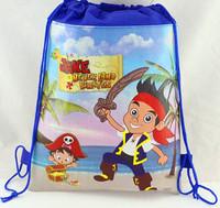 ELSA ice ice princess trade Romance printing double-sided non-woven drawstring bag schoolbag beam port