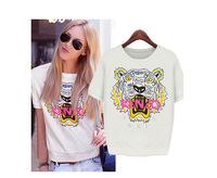 2014 summer new loose T-shirt female short-sleeved shirt bottoming shirt SK064233