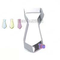 New 2014 Tie Cookie Cutter Metal Cutter Biscuit mold styling tools Boys favorite Free shipping
